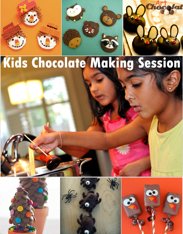Kids Chocolate Making