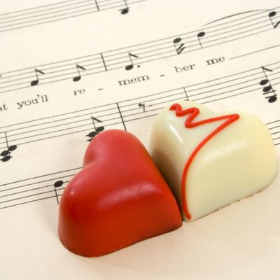 music affects taste of chocolate